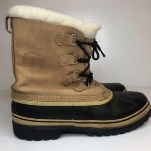 Sorel Men's Tan Caribou Boots